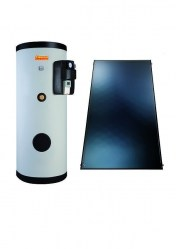 Комплект Immergas Inox Sol 200 Lux Top